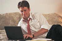 Man on laptop