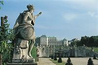 Belvedere Palace. Vienna, Austria