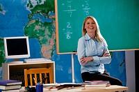 Teacher, portrait