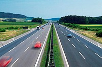 Autobahn 9, South of Nurnberg, Germany