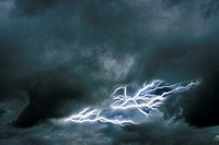 Multiple lightning bolts