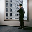 Businessman waiting in office