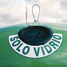 Solo vidrio (Glass only)