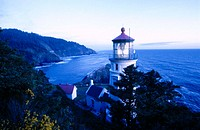 Heceta Head Lighthouse, Devil's Elbow State Park. Oregon, USA