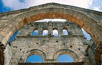 Saint Simeon. Aleppo. Syria.