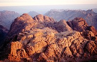 Panoramic view. Sinai. Egypt