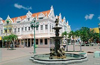 Holland American plaza. Aruba. Dutch Caribbean