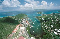 Red Hook, St. Thomas, US Virgin Islands. West Indies, Caribbean