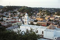View of Papantla. Veracruz. Mexico