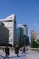 Umeda. Osaka. Kansai. Japan.