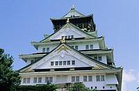 Osaka-jo (Osaka Castle). Osaka. Kansai. Japan.