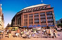 Department store 'Stockmann'. Helsinki. Finland