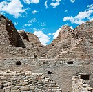Pueblo del Arroyo. Chaco Culture NHP. Nex Mexico. USA