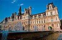 Hôtel de Ville (City Hall). Paris, France