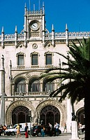 Rossio train station. Lisbon. Portugal