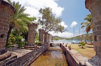 Historic Nelson's Dockyard. Antigua. Antigua and Barbuda. West Indies. Caribbean
