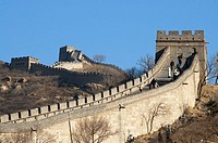 The Great Wall of China. Badaling. Near Beijing. China. Asia.