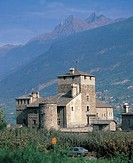 sarriod de la tour castle, saint pierre, aosta valley