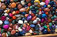 Colorful rocks pattern