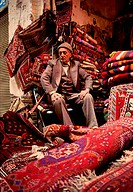 Owner of a carpet shop in Iran