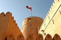 castle in Bawshar, Oman
