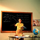 Teacher in classroom (thumbnail)