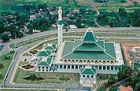 Malaysia. Malacca. Islam new great mosque