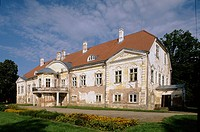 Manor (1740-1749). Ahja. Estonia.