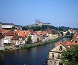 Bamberg/Linker Regnitzarm mit St. Michael