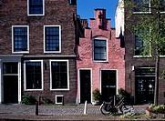 Leiden, Häuser in der Nähe der Rapenburg