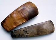 Assen, Drents Museum, Beil aus der Steinzeit