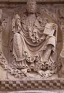 Carrion de los Condes, Kirche Santiago/ Relief von 1160