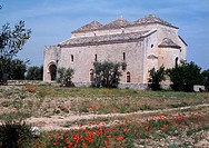 Valenzano, Kirche Organissanti di Cuti/ Süd-Ostansicht