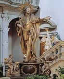 Bamberg, St. Michael/ Vierungsaltar, Kaiser Heinrich, 1726 von Franz Anton Schlott