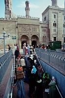 egypt, cairo, shari el azhar the square and the mosque