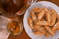 italy, tuscany, cantucci and vin santo
