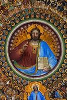 italy, veneto, padova, baptistery, giusto de´ menabuoi fresco