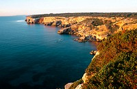Cliffs, Santanyí coast. Majorca, Balearic Islands. Spain