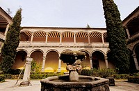 Cloister, Yuste monastery. Cáceres province, Extremadura, Spain