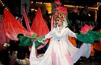 Dancers at Colours of Malaysia Festival, Kuala Lumpur