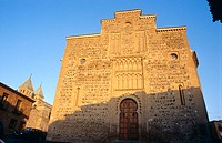 Church of Santiago del Arrabal (13th century). Toledo. Spain