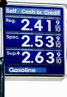 Gas prices: high or low (depending on where you live)