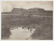 ´A Marsh Farm´, 1887.Photograph by Peter Henry Emerson (1856-1936).