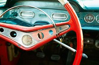 Steering wheel, Impala car, India