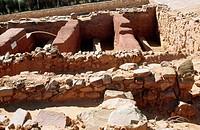 Cerro de las Cabezas archaeological site, Valdepeñas. Ciudad Real province, Castilla-La Mancha. Spain