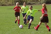 girl´s soccer game