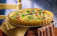 Chard quiche