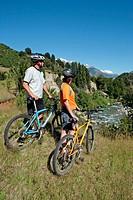 Biking. Chile.