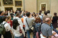 ´Mona Lisa´ (aka ´La Gioconda´) in the Louvre Museum, Paris. France