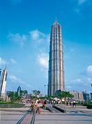 Pudong Jin Mou Building, Shanghai, China